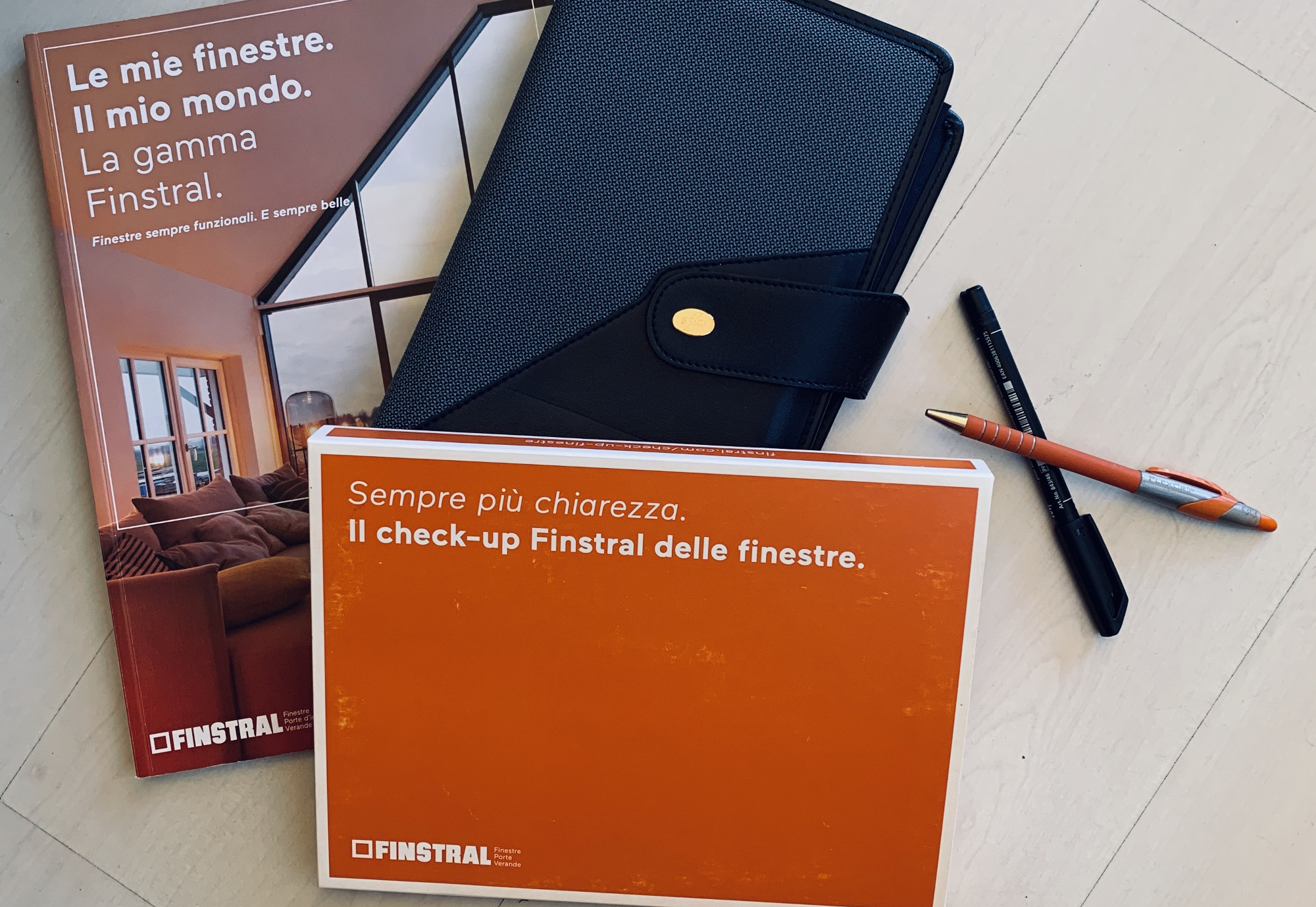 Il kit per il check-up finestre Finstral