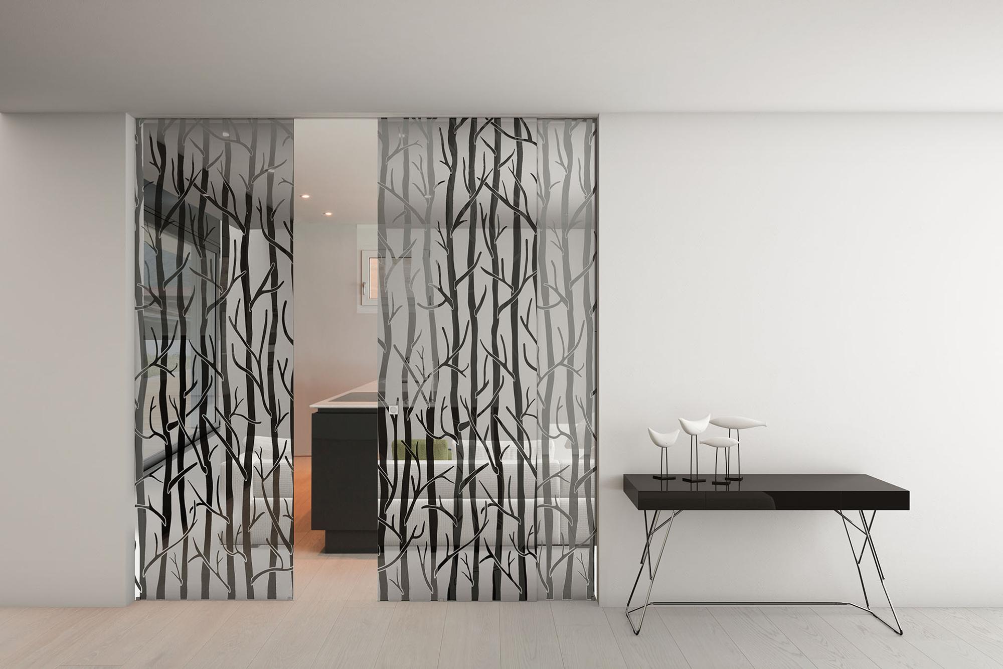 Porta d'interni in vetro Foa Porte