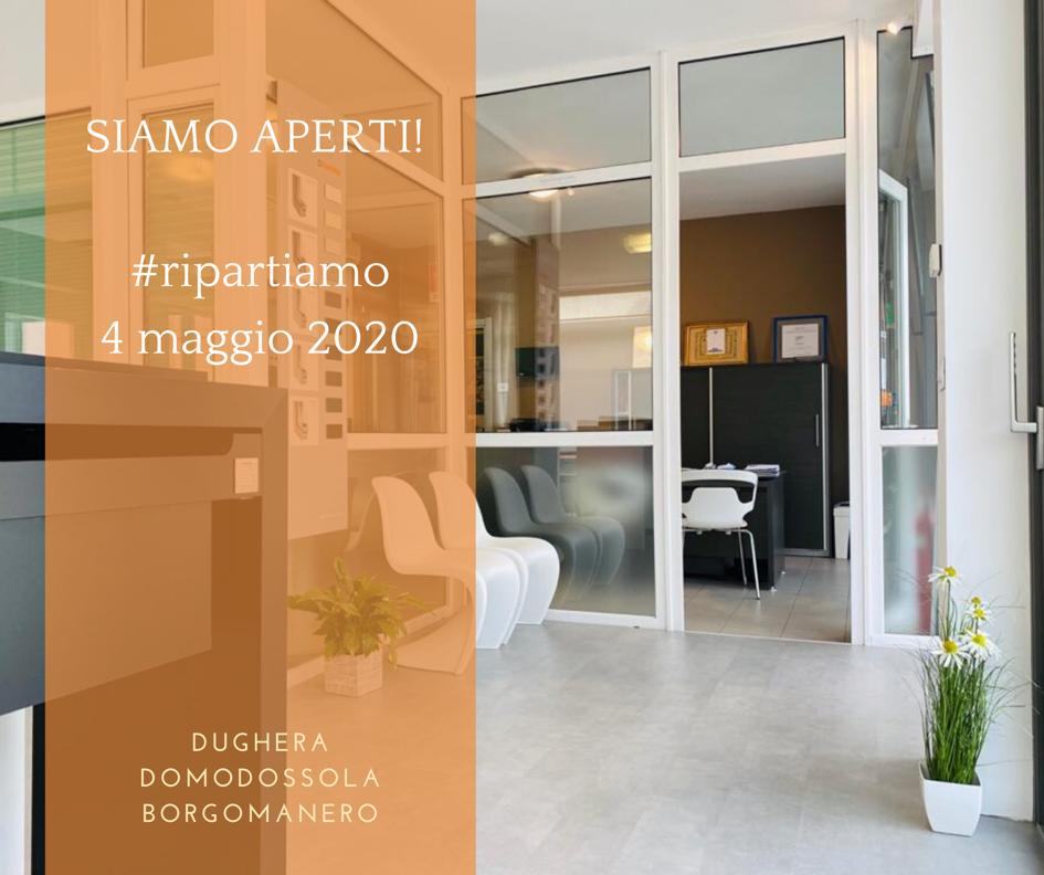 Dughera Serramenti 4 Maggio Riapertura Showroom