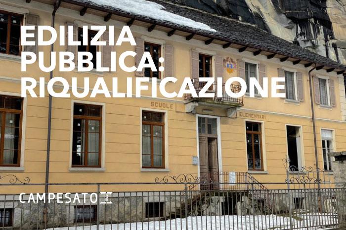 premia ex scuola riqualificazione edilizia pubblica dughera